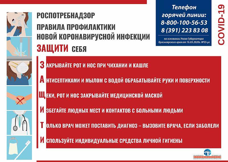 Медпроф_плакат_ профилактика коронавирусной инфекции